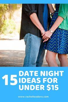 15 Date night Ideas Under $15 #datenight #dateideas #cheap #thrifty #moneysaving