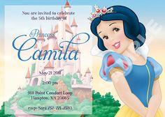 Snow White Invitation by PartyFavorsInc on Etsy, $5.00