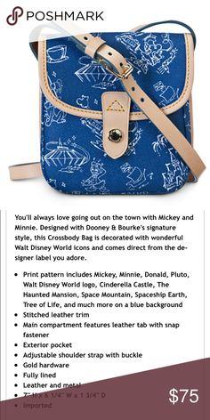 Dooney & Bourke Disney Purse EUC See photo 2 for description. Wonderful condition! Dooney & Bourke Bags
