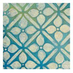 Cross Lattice Giclee Print by Hope Smith at Art.com