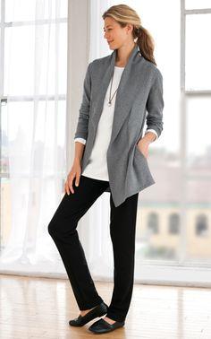 J. Jill - cotton & cashmere
