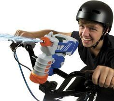 Skyrocket Cyclone Bike Mounted Water Blaster Soak'em On The Move