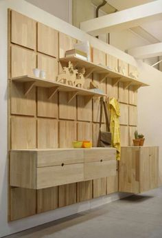 Gridded Timber Organizers - The Lenga Modular System Offers Clever and Customizable Storage (GALLERY)