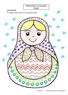Matriochka ma poupée Russe