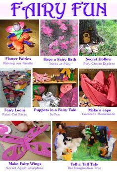 "Fairy Fun: Fairy activities and crafts for a ""fairy fun"" day with your princess"