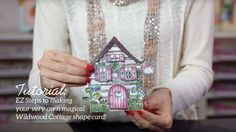 EZ Steps to Create Shaped Cards and Vellum Accents -Wildwood Cottage Col...