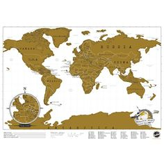 Take advantage of our great prices and buy Travel Edition Scratch Map today at IWOOT. Get great gifts, with free delivery available.