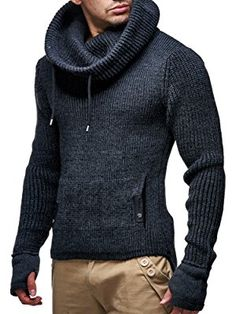 67c143a070 LEIF NELSON Herren Strickpullover LN5060 Mens Linen Outfits, Leif Nelson,  Urban Fashion, Geek
