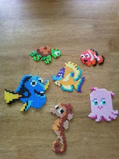 Finding Nemo characters perlwer beads by Kaitlynn G.- Perler® | Gallery