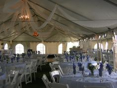 Outdoor tented wedding done by Black Hills Receptions