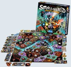 Small World: Underground by Days of Wonder.