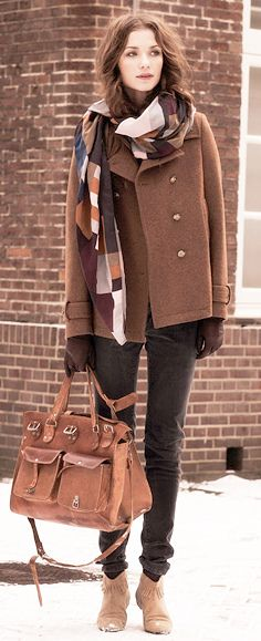 winter layers. only if i were that that tall and sleek
