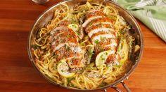 Lemon Asparagus Chicken Pasta  - Delish.com