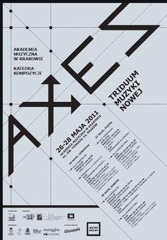 posters by Antek Korzeniowski, via Behance
