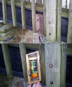 Bridge Cache by DaveBrews   An in-plain-sight cache. Clever. Creative. Not destructive.