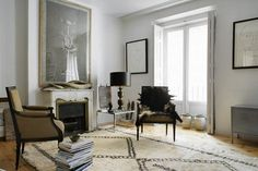 La Dolce Vita: Design Under the Influence: Beni Ourain Rugs