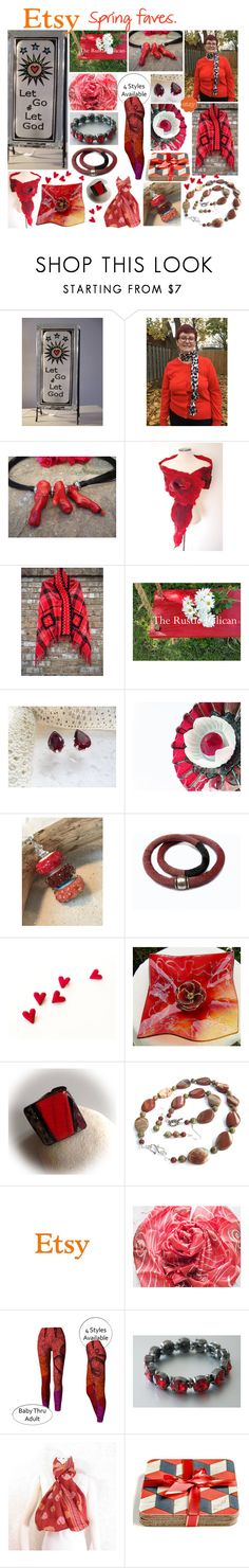 """""""ETSY Spring Faves"""" by belladonnasjoy ❤ liked on Polyvore featuring vintage"""