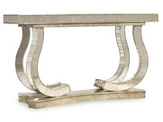 Hooker Furniture Living Room Show Stopper Mirrored Console