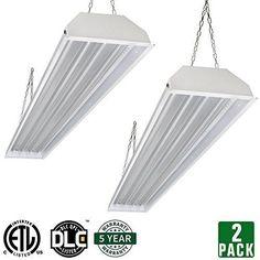 NEW! 2 Pack Hykolity 160W LED Linear High Bay Light 4FT 19000lm 5000K ...NO TAX #hykolity