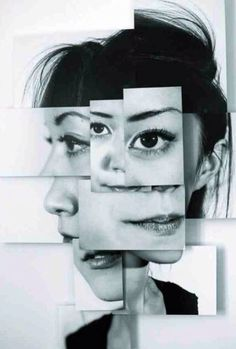 - i chose this photo because I found it interesting,like the way it shows different views of a woman face