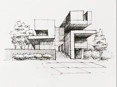 Architectural Sketching by lt khang - Drawing Technique - Art sketches Architecture ideas Croquis Architecture, Texture Architecture, Architecture Drawing Sketchbooks, Architecture Concept Drawings, Architecture Portfolio, Classical Architecture, Architecture Design, Interior Architecture Drawing, Interior Design Sketches