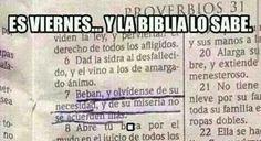 Si la Biblia lo dice ... 😂😂😂