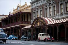 The Dr Blake Mysteries filmed in Ballarat, Victoria, Australia starring Craig McLachlan, Nadine Garner, Joel Tobeck, Rick Donald and Cate Wolfe.      For a preview of the series visit http://www.abc.net.au/tv/doctorblake/     http://visitballarat.com.au
