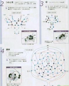 Crystal Ox - Beaded Jewelry Patterns 串珠十二生肖:牛