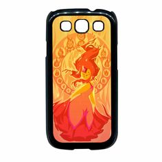 Adventure Time Characters Flame Princess Samsung Galaxy S3 Case