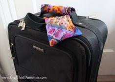 Necktie luggage tag  tutorial