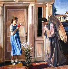 The Annunciation by John Collier