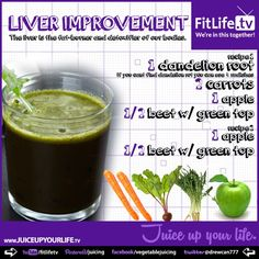 Amazing Liver Improvement Juice Recipe