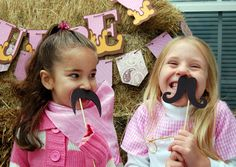 Meaningful Menagerie: Audrey's Cowgirl/Western/Horse themed 5th Birthday party!