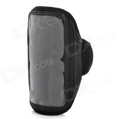 Stylish Sports Nylon Armband for Samsung Galaxy Note 2 N7100 - Black  Cheap does the job, fits 5 inch phone, shipped to NZ free shipping