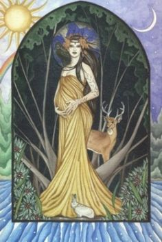 Leto- the Goddess of Motherhood- is the mother of Artemis and Apollo