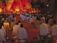 Taizé The Taizé Community is an ecumenical monastic order that invites people of different Christian faiths to worship together. They are well known for thei. Our Father In Heaven, Heavenly Father, Christian Music Artists, Watch And Pray, Religion, Chapelle, If I Stay, Kirchen, Christian Faith