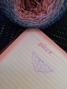 bandorka: Háčkovaný šátek - podrobný popis Crochet, Cards, Crocheting, Ganchillo, Maps, Playing Cards, Knits, Chrochet, Quilts