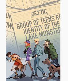Scooby Doo, Where Are You? - Shaggy, Fred, Daphne and Velma by Sweeney Boo * Cartoon Kunst, Cartoon Art, Pretty Art, Cute Art, Desenho Scooby Doo, Character Inspiration, Character Art, Scooby Doo Mystery Incorporated, Archie Comics