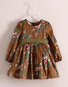 Cheap Direct Buy From China Sources: Luxury Brands - Kids Fashion Baby Girl Fall Outfits, Baby Girl Fashion, Kids Outfits, Kids Fashion, Kids Frocks Design, Baby Frocks Designs, Girls Dresses Sewing, Little Girl Dresses, Frock Design