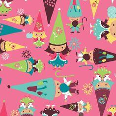 Camelot Cottons | Fairyville | MinkyBear and Me Fabrics