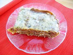 Schatz was koch ich heute? -  Vegane Kohlrabilasagne.  Laß es Dir schmecken!  #vegan #pasta