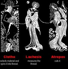 Image result for art nouveau the norns