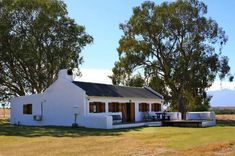 Denneboom Shepherd's Cottage - Farm stays for Rent in Cape Winelands, Western Cape, outh Africa Wine Barrel Wall, Cape Dutch, Lavender Cottage, Wooden Shutters, Farm Cottage, Contemporary Cottage, Farm Stay, Entrance Gates, House Goals