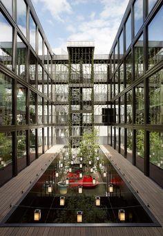 CitizenM Hotel London Bankside by Concrete Architectural Associates.