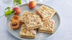 Strouhaný meruňkový koláč Easy Meals, Veggies, Nutrition, Bread, Cooking, Healthy, Food, Kitchen, Vegetable Recipes