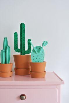 In de nieuwe Fashionista vind je een DIY van Marij Hessel voor een superleuke cactus. Hier kun je het sjabloon downloaden!