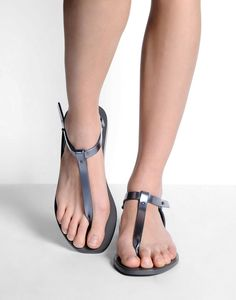 600d50895a2a10 Rick Owens Sandals in Gray (Lead)