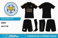 Camisetas de la Premier League 2017-18 - Todo Sobre Camisetas