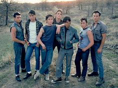 The Outsiders. 1983 I was in love with most of them at some point.. stef