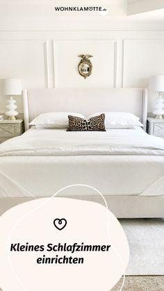 Das Schlafzimmer ist der wichtigste Raum in Deinem Zuhause, denn es ist Deine persönliche Ruheoase. In diesem Beitrag geben wir Dir deshalb hilfreiche Tipps, wie Du auch ein kleines Schlafzimmer einrichten kannst und dabei den Raum optimal ausnutzt. Furniture, Orange, Home Decor, Room Interior Design, Home Decor Accessories, Bed, Ad Home, Homes, Helpful Tips